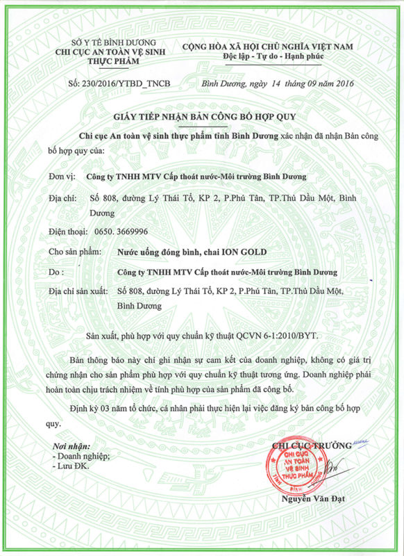 1. Hợp Quy Ion Gold